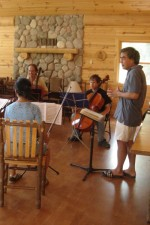 Papa Kim is in session - chamber ensemble coaching @ NLCMI