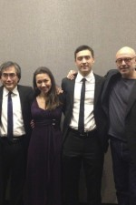 "After ""Afterglow"" - Peter Child's captivating concerto for string quartet and wind ensemble with bro Daniel, papa Young-Nam, and the wonderful Yeesun Kim"