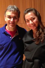 Recording with the spectacular Gil Shaham @ the Dimenna Center