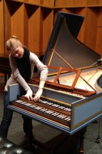 The multi-talented Ieva Jokubaviciute...an epic day of recording @ SUNY-Purchase!