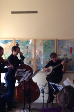 Jarrin' down...chamber music house concert with Béla Fleck!