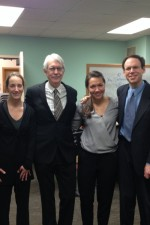 The Chamber Music Society of Minnesota - post-concert with John Harbison, Fred Harris, and Mina Smith