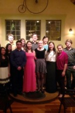 The Kim Studio 2014-15!  Post-recital @ The Carriage House