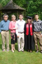 The fam...graduation-styles (#DissertationJetlag!)