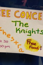 Come for the free food...stay for the music!
