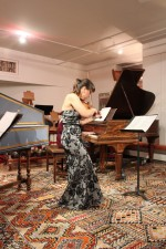 Playing Ellen Zwilich's sonata in NYC with the incomparable Ieva