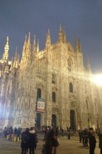 My first days in Italy...Il Duomo a Milano